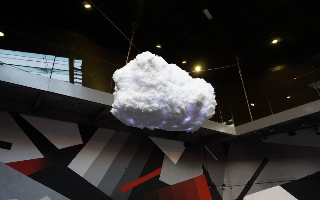 La Nuvola al museo MACRO Asilo di Roma
